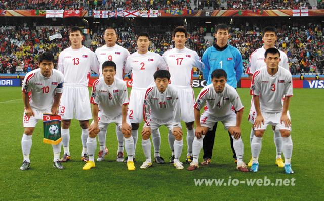 W杯に出場した朝鮮代表の選手たち