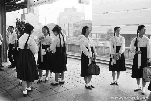 1960年代のチマ・チョゴリ制服