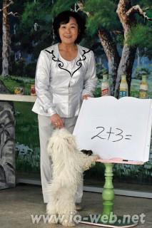 人気の動物ショーを支えるトッコ・ヨンエさん