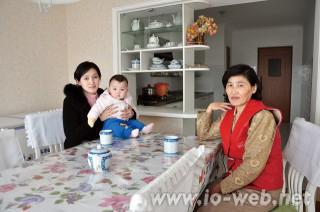 チェ・クムヒャンさん家族