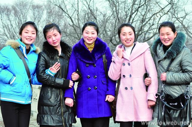 朝鮮の若者たち